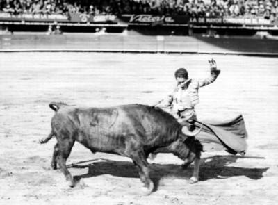 Revolera de un torero en el ruedo