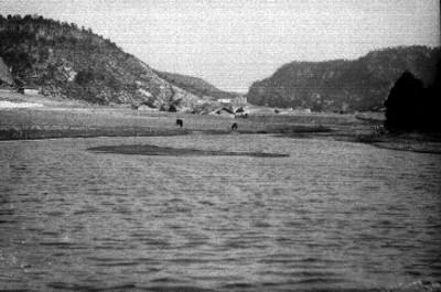 Lago y Sierra Tarahumara en Chihuahua