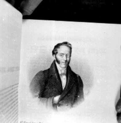 Manuel Gómez Pedraza, Político y Diputado; litografía