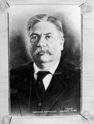 Abraham González, revolucionario