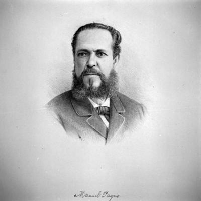 Manuel Payno, litografia