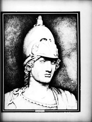 Minerva, retrato