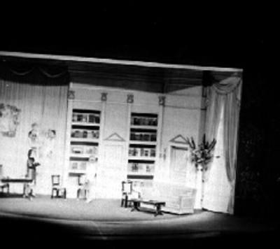Representación de una obra teatral