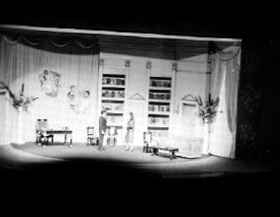 Representación de una obra de teatro