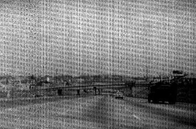 Viaducto y tramo de una autopista