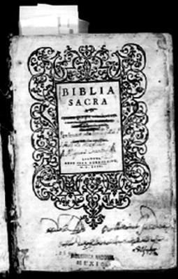 Portada de Biblia Sacra
