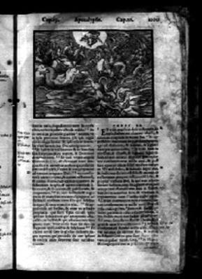 """""""Capítulo 20"""" del """"Apocalypsis"""" en la Biblia Sacra"""