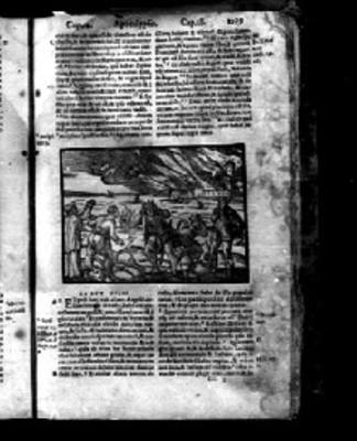 """""""Capítulo 18"""" del """"Apocalypsis"""" en la Biblia Sacra"""