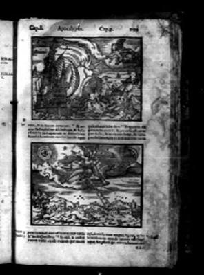 """Pasajes del """"APOCALYPSIS"""" en la Biblia Sacra"""
