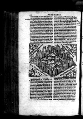 Litografía de profecía, Biblia Sacra