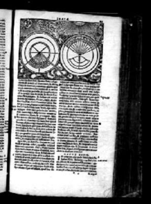 Página de la Biblia Sacra con litografía