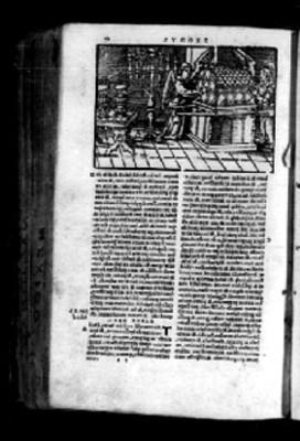 Imágen del éxodo, en página de Biblia Sacra