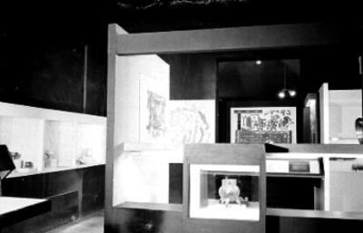 Vista de la sala de la cultura mixteca