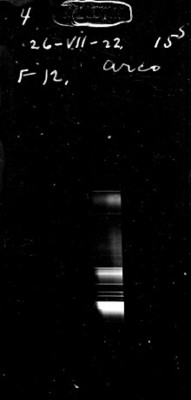 "Espectro ""26-VII-22 15s. F12 arco"""