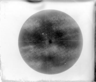 """La luna a las 9 horas 20 minutos de """"III-2-1906 """""""