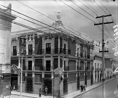 Casa del Alfeñique esquina