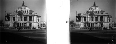 Palacio de Bellas Artes, vista de conjunto