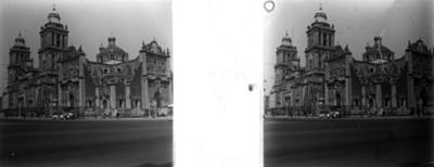 Sagrario Metropolitano y Catedral de México, vista de conjunto