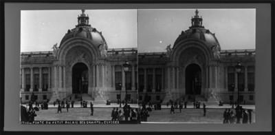 1900 Porte du petit Palais de Champs Elysees
