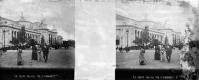 Le grand Palais Vue D' Ensamble
