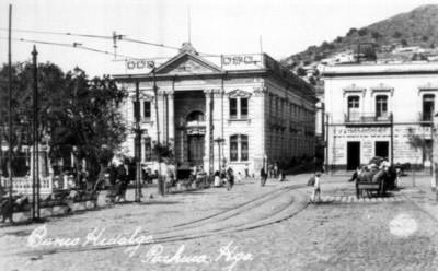 """""""Banco Hidalgo"""", fachada principal"""