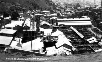 Molino de Loreto, Cía. R. del M. Pachuca