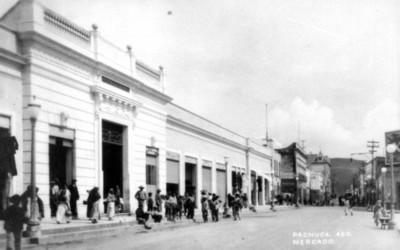 Mercado 1° de Mayo, fachada