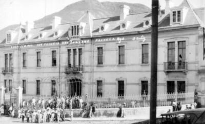 Casa Rul. Hoy Escuela del Gobierno. Pachuca, Hgo