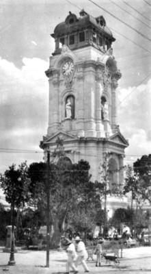 Reloj monumental de Pachuca, vista