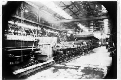 Instalaciones de fábrica de papel en Tlalmanalco, vista
