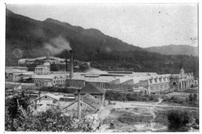 Fábrica de papel San Rafael, vista parcial