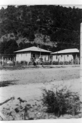 Vista de calle en poblado de San Rafael