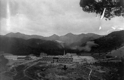Fábrica de papel San Rafael, vista panorámica
