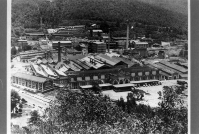 Fábrica de papel San Rafael, vista exterior