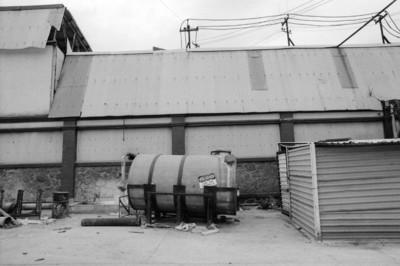 Fábrica de papel San Rafael, tanque y nave