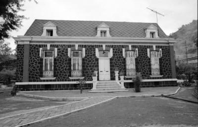 Edificio antiguo de la fábrica San Rafael, fachada