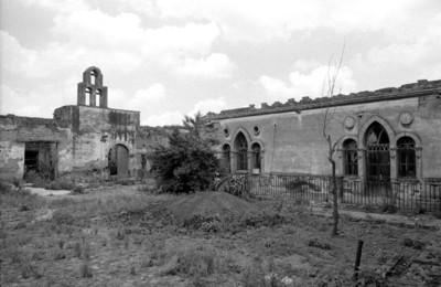 Hacienda de San Rafael y capilla, exterior