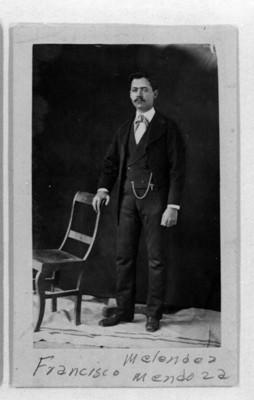 """""""Francisco Meléndez Mendoza"""", retrato"""