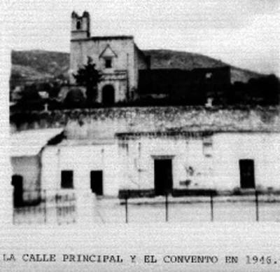 Vista del Ex-convento de San Andrés exterior