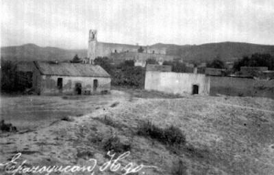 Vista panorámica hacia el Ex-Convento de San Andrés