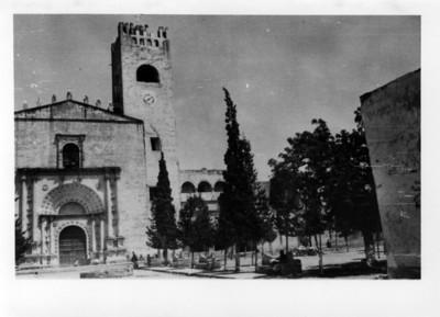 Vista parcial del Convento de Actopan