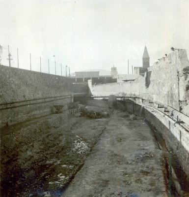Tramo desazolvado del Puente Benito Juárez al Puente Purísima Chica, norte a sur, vista parcial