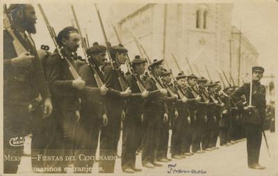 """Los marinos extranjeros"", tarjeta postal"