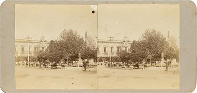 """""""Palacio del Gobierno Federal"""" de Chihuahua, exterior, vista parcial"""