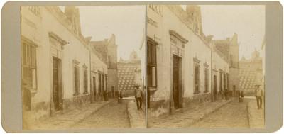 Casa en que se verificaron las juntas insurgentes en Querétaro