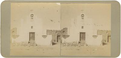 """""""Capilla de la hacienda de Mesillas"""", exterior, vista frontal"""