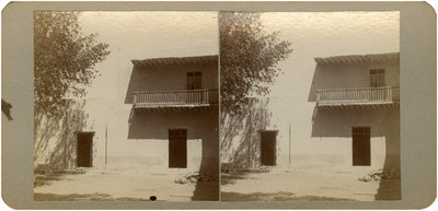 Casa en donde se hospedó [Miguel Hidalgo y Costilla en la Hacienda de] Burras