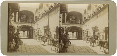 Interior de la casa que [Miguel] Hidalgo visitó en Celaya