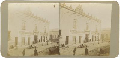 """""""Casa en donde se alojan las tropas en San Miguel Allende"""", vista exterior"""