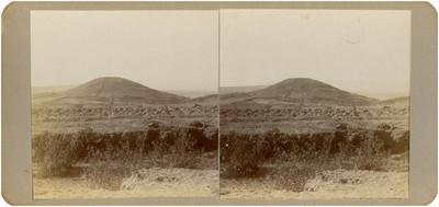 """""""Cerro de San Martín"""", por donde pasó Hidalgo en noviembre de 1810, panorámica"""